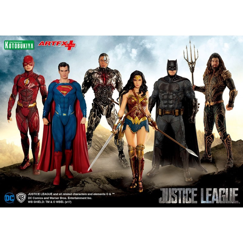 ARTFX+ JUSTICE LEAGUE サイボーグ