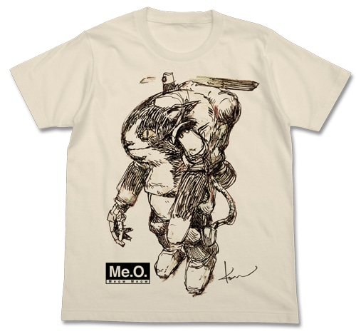 Meow Tシャツ/NATURAL-M