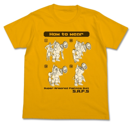 HOW TO WEAR Tシャツ/GOLD-XL