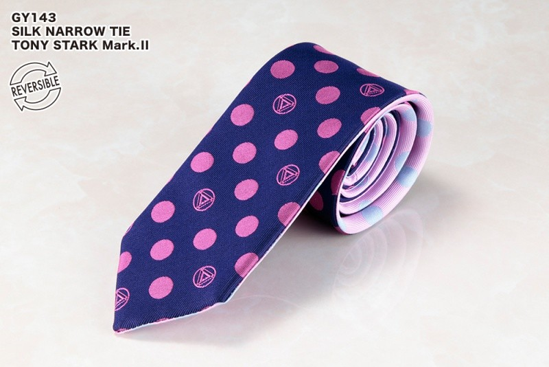 SILK NARROW TIE / TONY STARK Mark.�U
