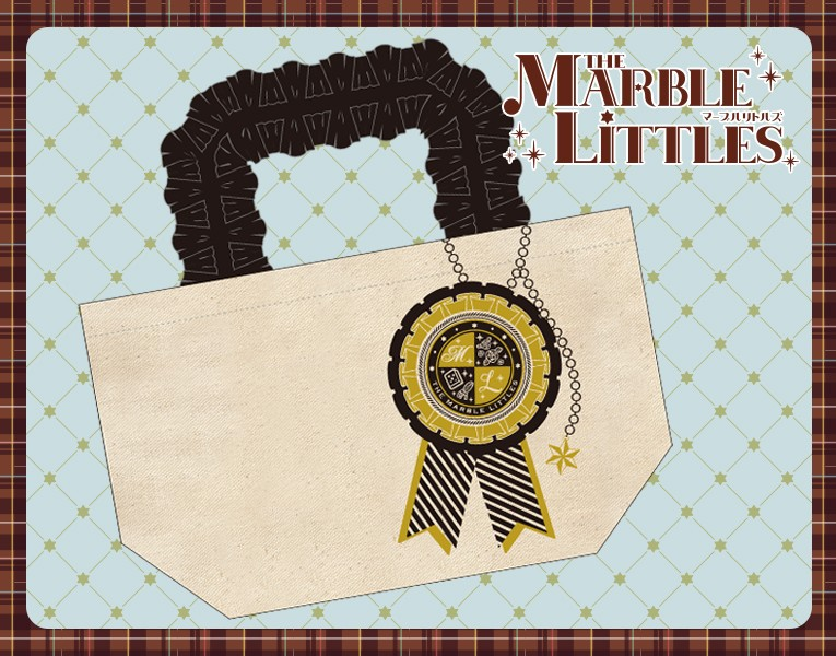 『THE MARBLE LITTLES』 ランチトートバッグ
