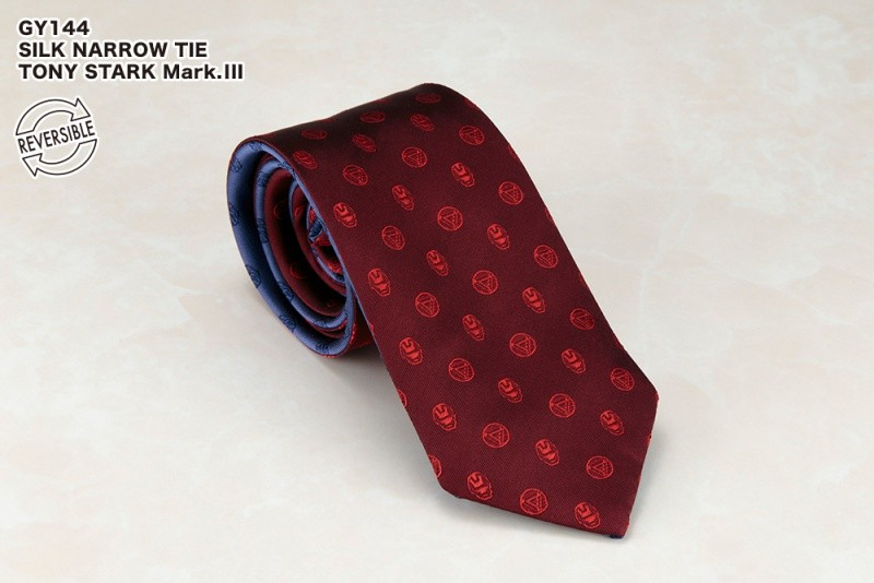 SILK NARROW TIE / TONY STARK Mark.�V