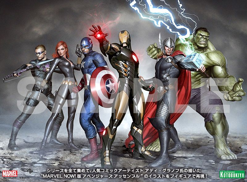 ARTFX+ ソー MARVEL NOW!