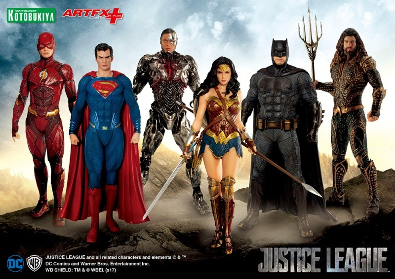 ARTFX+ JUSTICE LEAGUE アクアマン