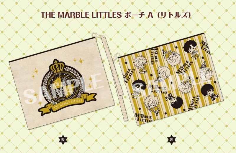 『THE MARBLE LITTLES』 ポーチA(リトルズ)