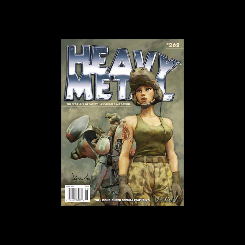 Heavy Metal #262 (Newsstand Edition) ヘビーメタル 262号