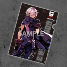 GOD EATER 9th Anniversary クリアファイルセット A